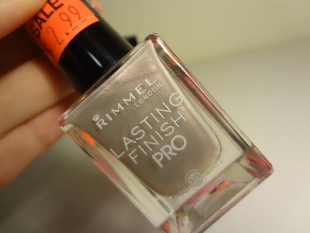 rimmel london crushed pearl nail polish