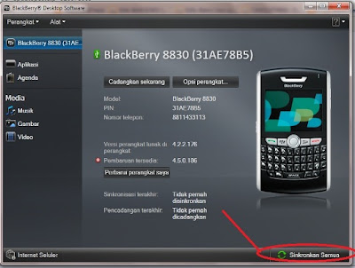 Dekstop Manager Blackberry
