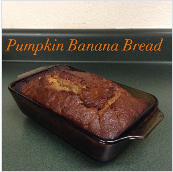 The Blushing Dreamer: Pumpkin Banana Bread