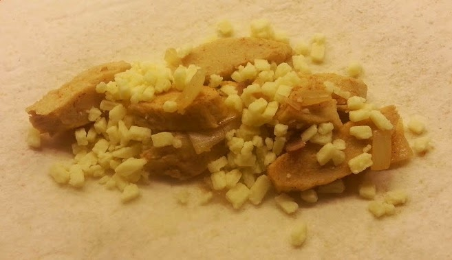 Pilgrims Choice Crumbles Review used as a filling for Quorn fajitas cooked