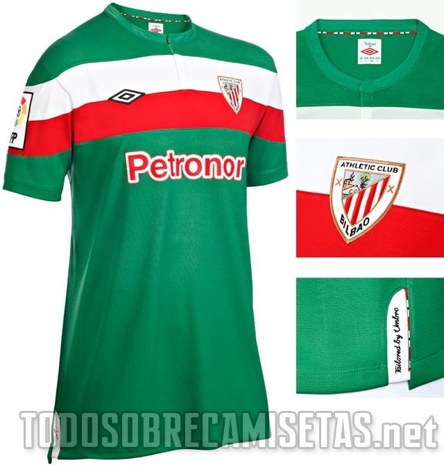 canalfútbol Blog  Camiseta Suplente del Athletic Club 2011 12 8d70994f91983