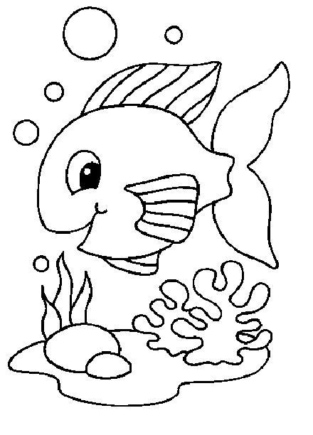 Banco Peces Dibujo Dibujos de Peces