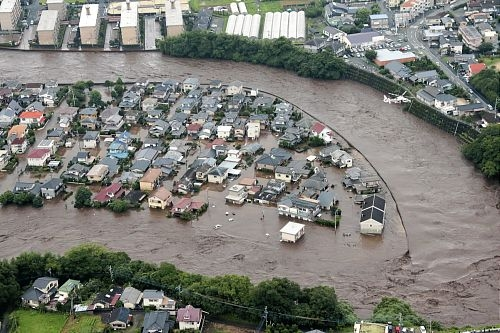 Kyushu_islands_flood_recent_natural_disasters