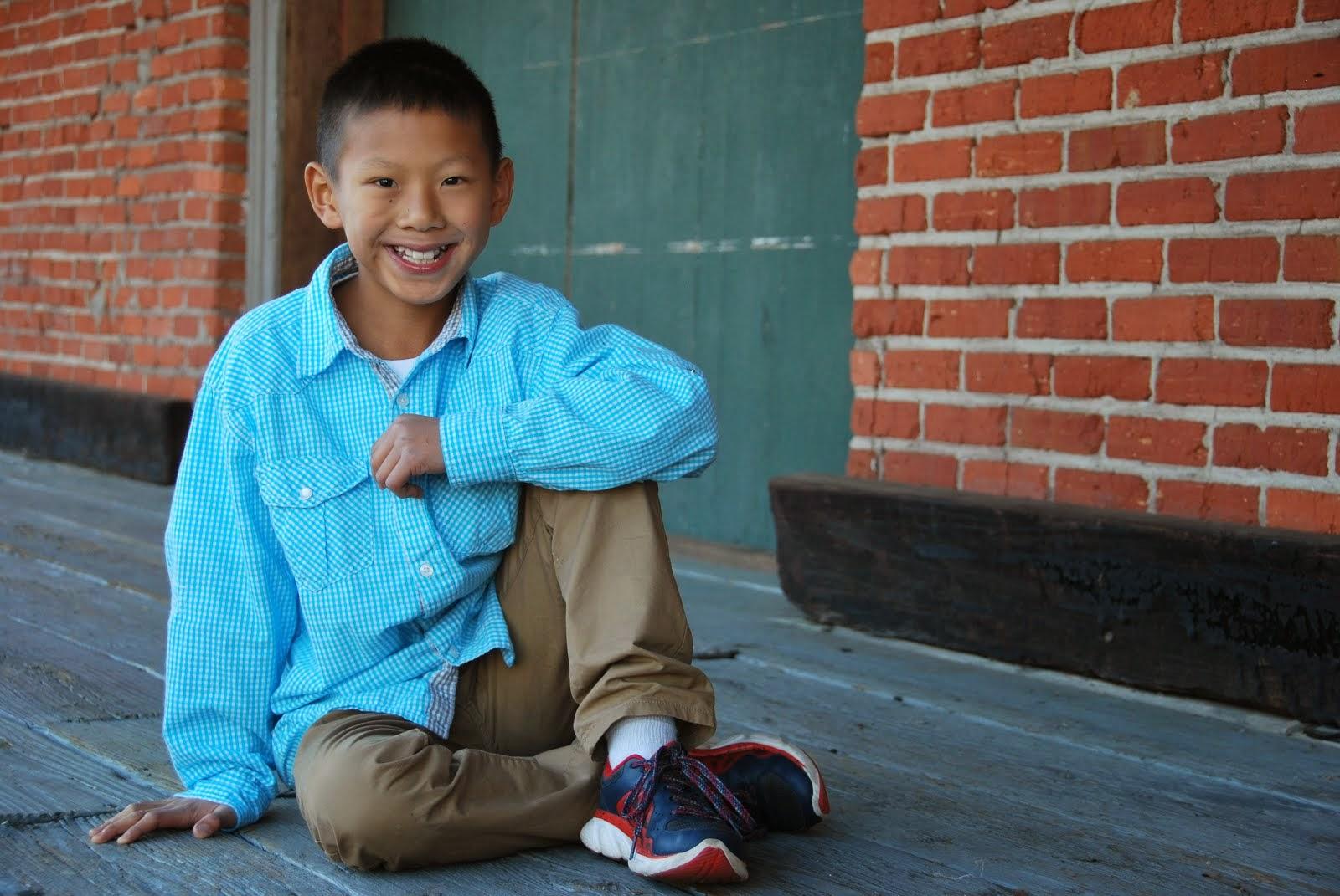 Noah (10) - adopted at 20 mos.
