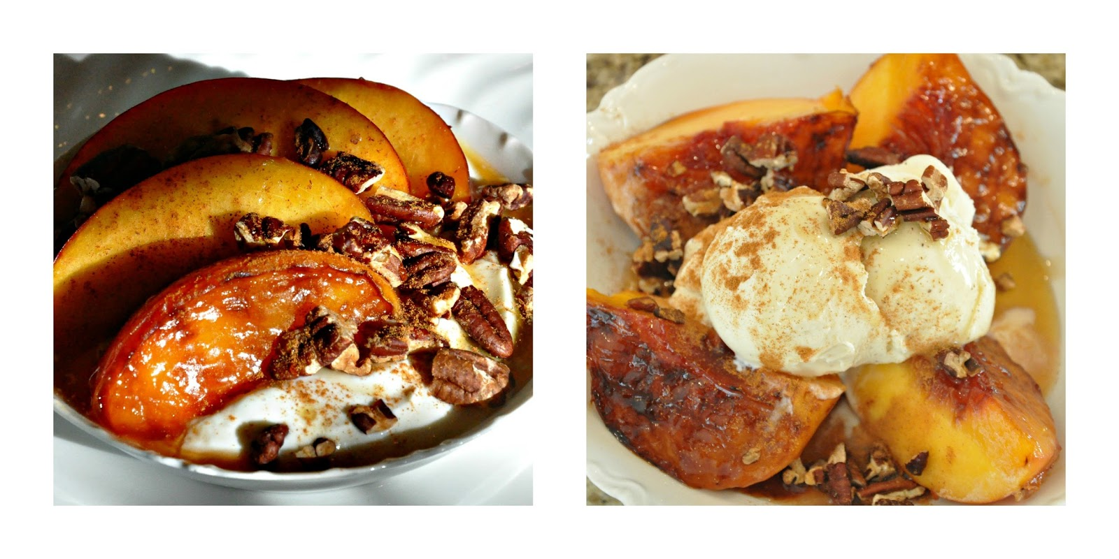 Serendipity Refined Blog: Grilled Summer Peaches With ...