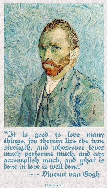 love, Vincent van Gogh