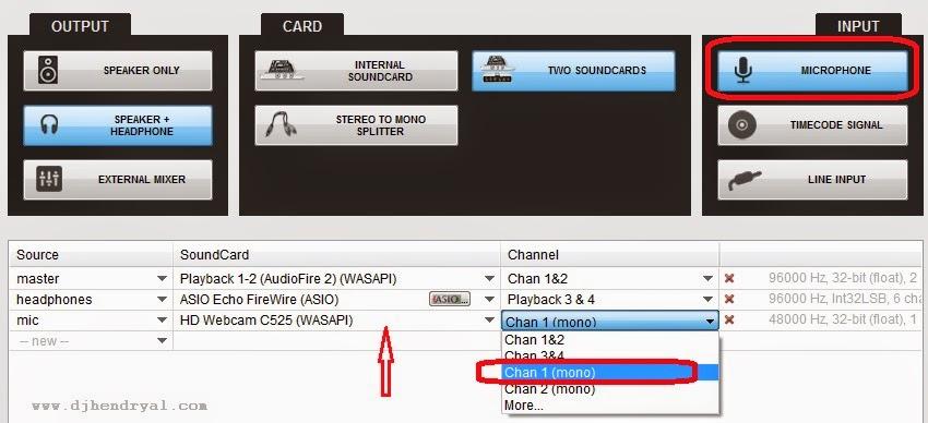 Cara aktifkan mic di virtualdj 8