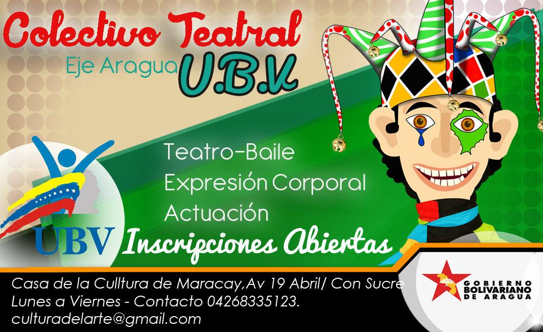 Colectivo Teatral Mision Sucre  U.B.V eje Aragua