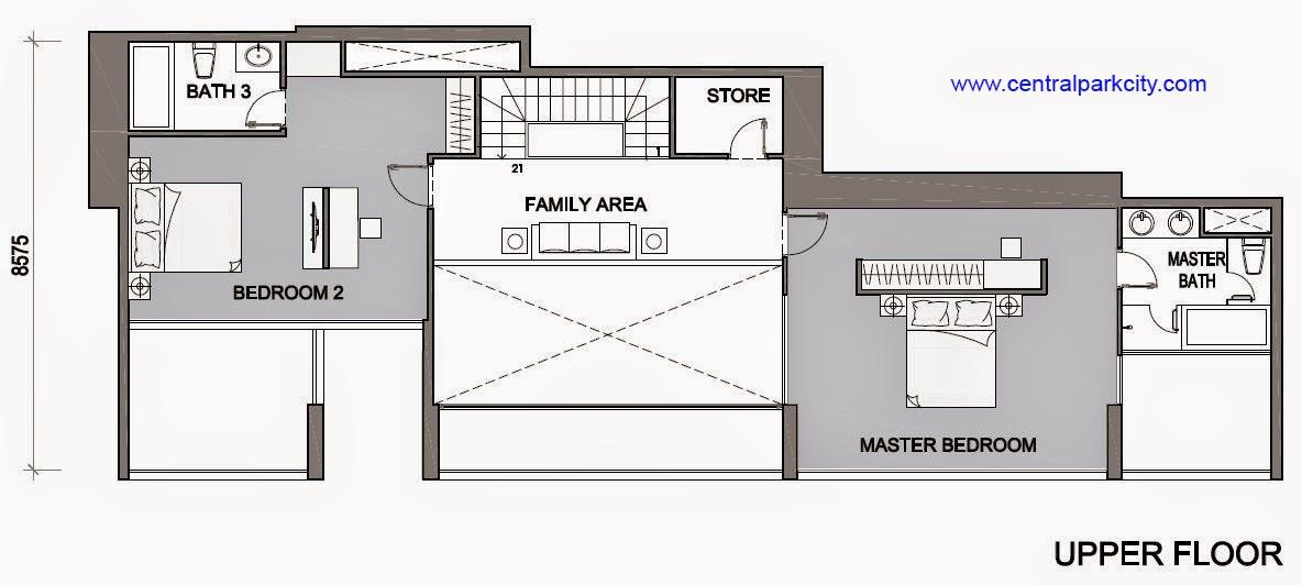 Vinhomes Central Park Penthouse - Căn số 03 tầng 45-46 Upper Floor - 3PN - 269.3m2