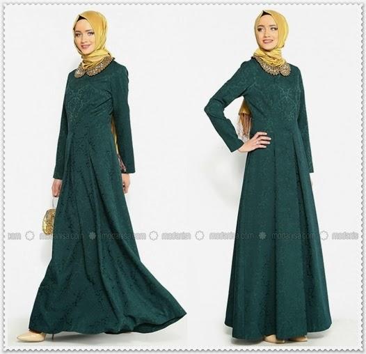 Armine 2015 Tesettür Elbise Modelleri