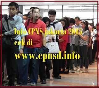 pendaftaran cpns 2015 jakarta