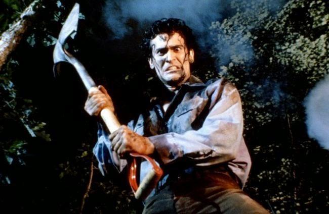 evil dead, ash williams, sam raimi, bruce campbell, posesión infernal, el zorro con gafas, zombies, televisión