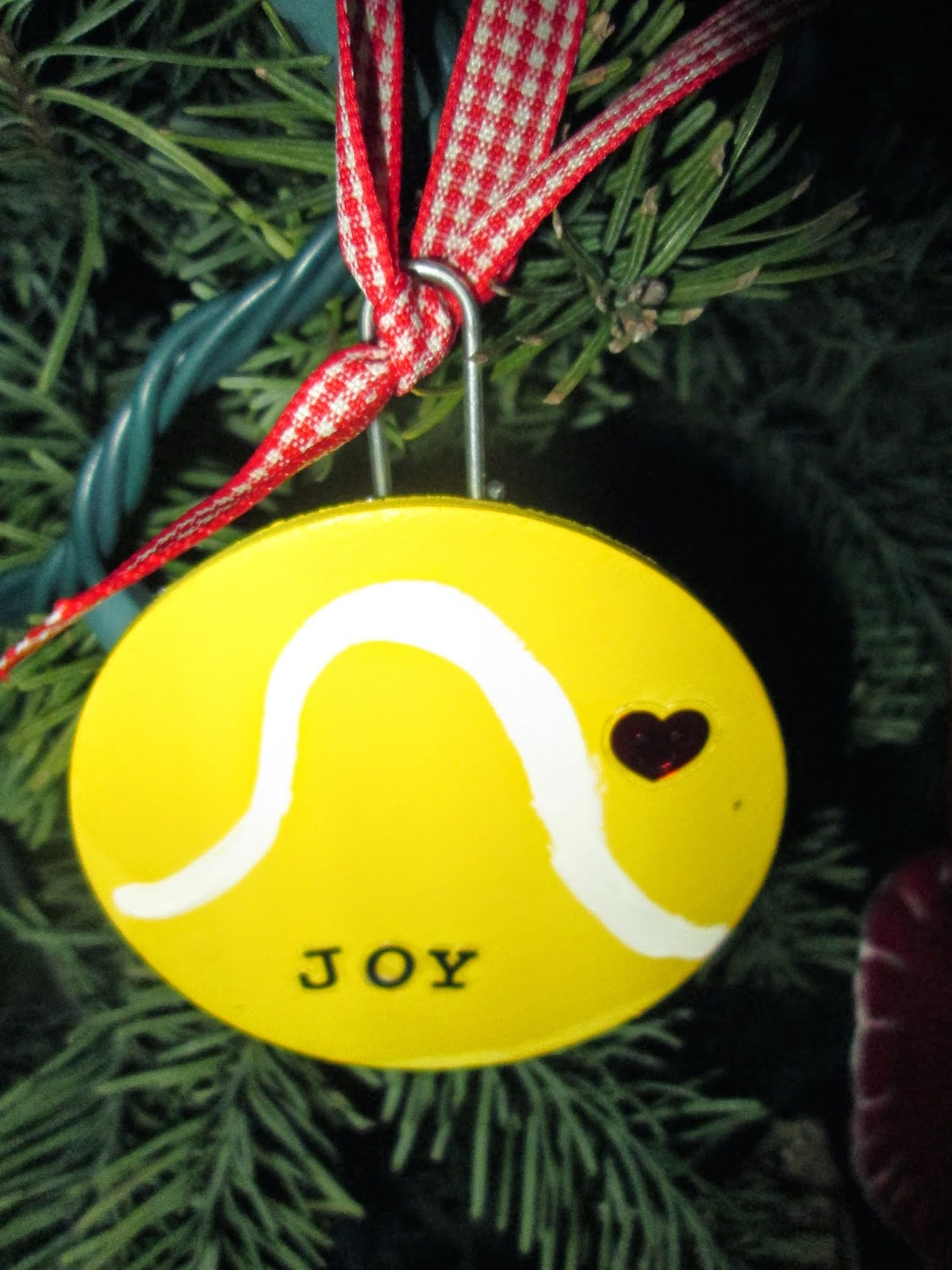Tennis christmas ornaments - Here Is Picture Of An Ornament On My Tree