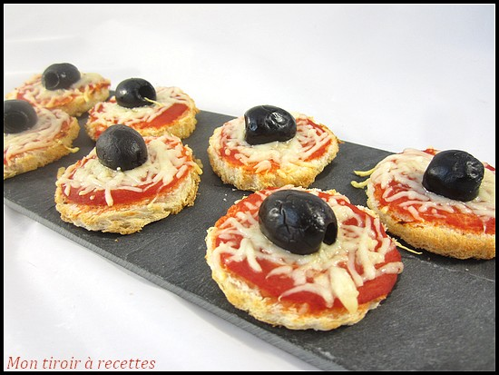 mini pizza pain de mie