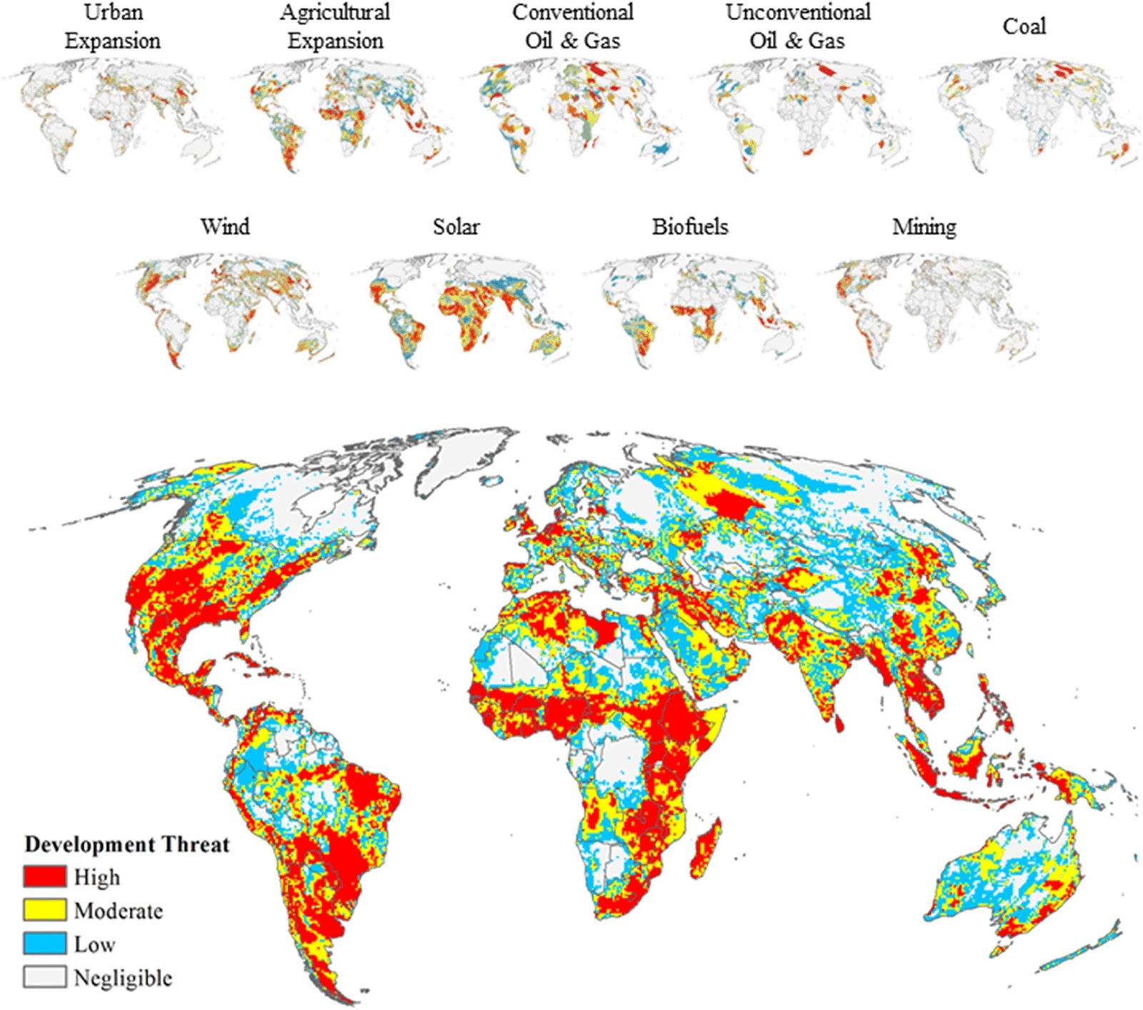 A World at Risk: Aggregating Development Trends to Forecast Global Habitat Conversion