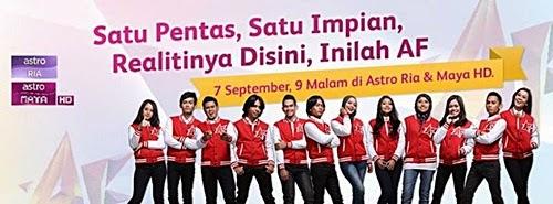 Lagu Akademi Fantasia AF 2014 konsert minggu kesembilan, senarai lagu AF 2014 konsert minggu 9, lagu peserta AF 2014 minggu 9, konsert AF 2014 separuh akhir