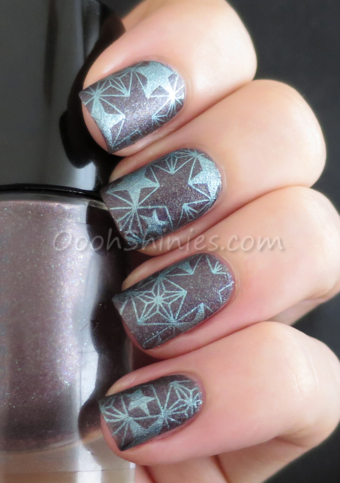 Catrice Steel My Heart with China Glaze Adore and DRK Nails Themes-SF.