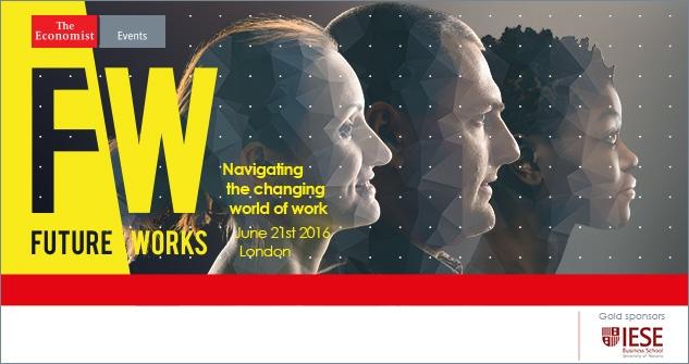 Social Media Partner for the Economist's Future Works conference