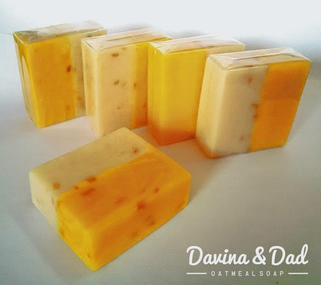 Oatmeal Soap Davina & Dad, Sabun untuk Kulit Alergi, Kulit Eksim, Kulit Gatal, Kulit Sensitif