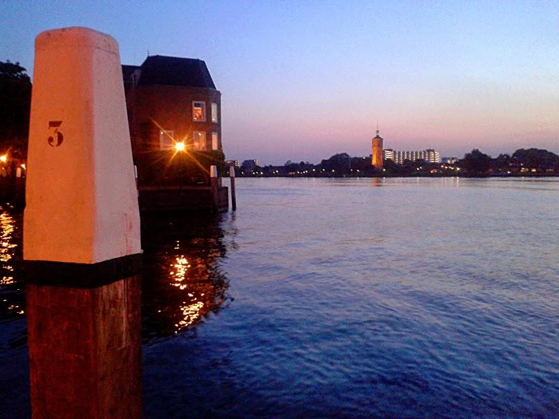 Dordrecht: the Maas from Groothooft