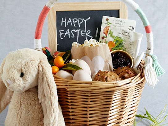 Inside the brick house 6 easter basket ideas that are easy fun make it a breakfast easter basket the amazing brains over at 100 layer cake let wanted to feel good about easter sweets stashed in their kids baskets negle Image collections