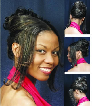 Stylish African American Wedding Hairstyles For Black Women