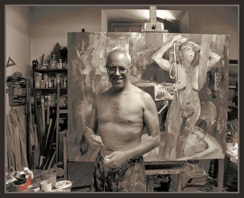 ernest descals artista pintor  pintura