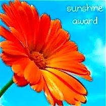 The Sunshine Award for Inspiring Book Blog :-)
