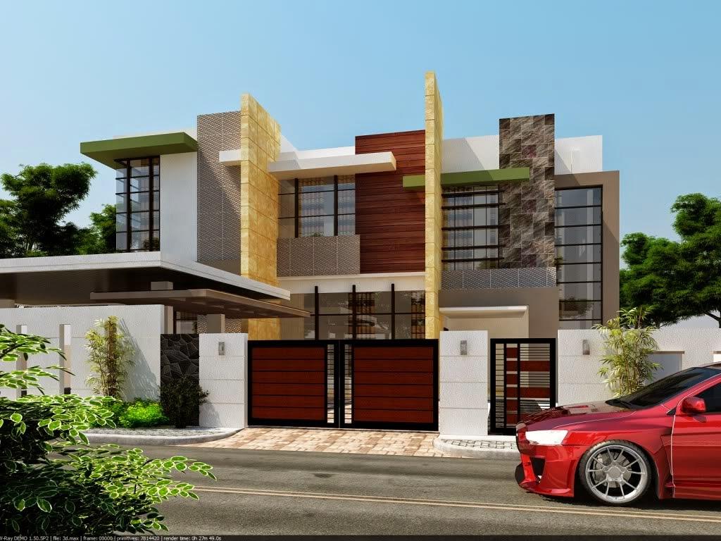 Desain Rumah Minimalis Megah