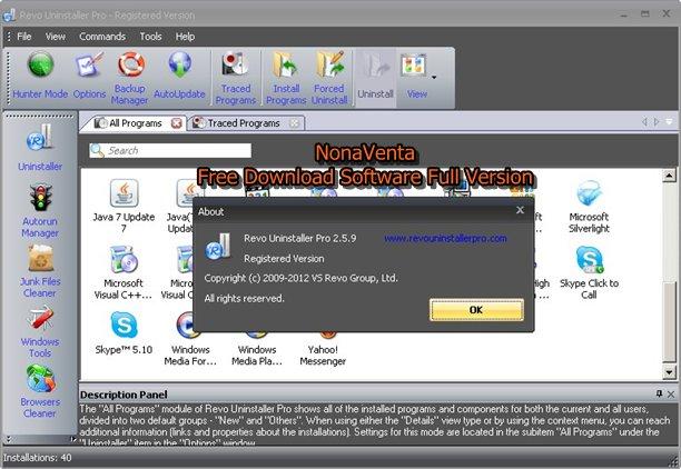 Revo Unistaller Pro 2.5.9