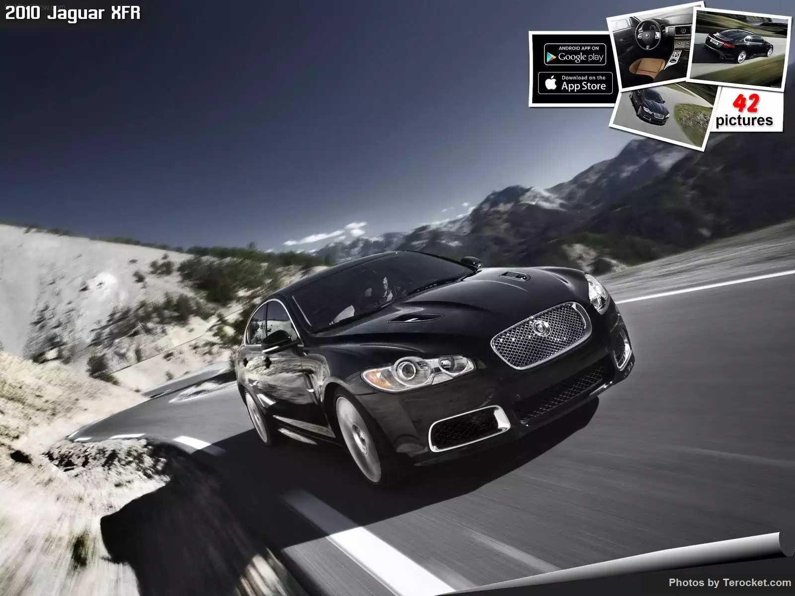 Hình ảnh xe ô tô Jaguar XFR 2010 & nội ngoại thất