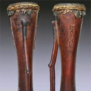 Gambar Alat Musik Tradisional Tifa Papua Seni Budaya Indonesia