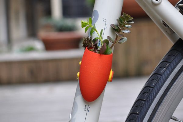 cute bike planter