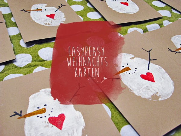 kuddelmuddel diy easy peasy weihnachtskarten. Black Bedroom Furniture Sets. Home Design Ideas