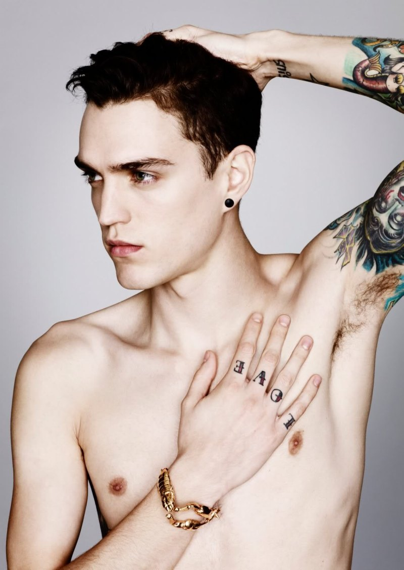 Male Models Tattoos Tumblr These tattooed male models