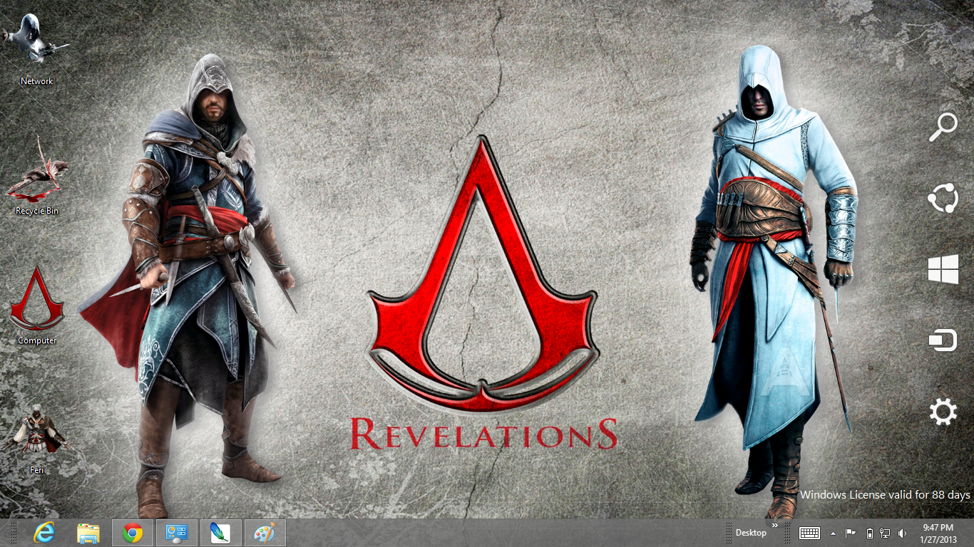 Assassin's Creed Revelations Themes For Windows 8   Ouo Themes