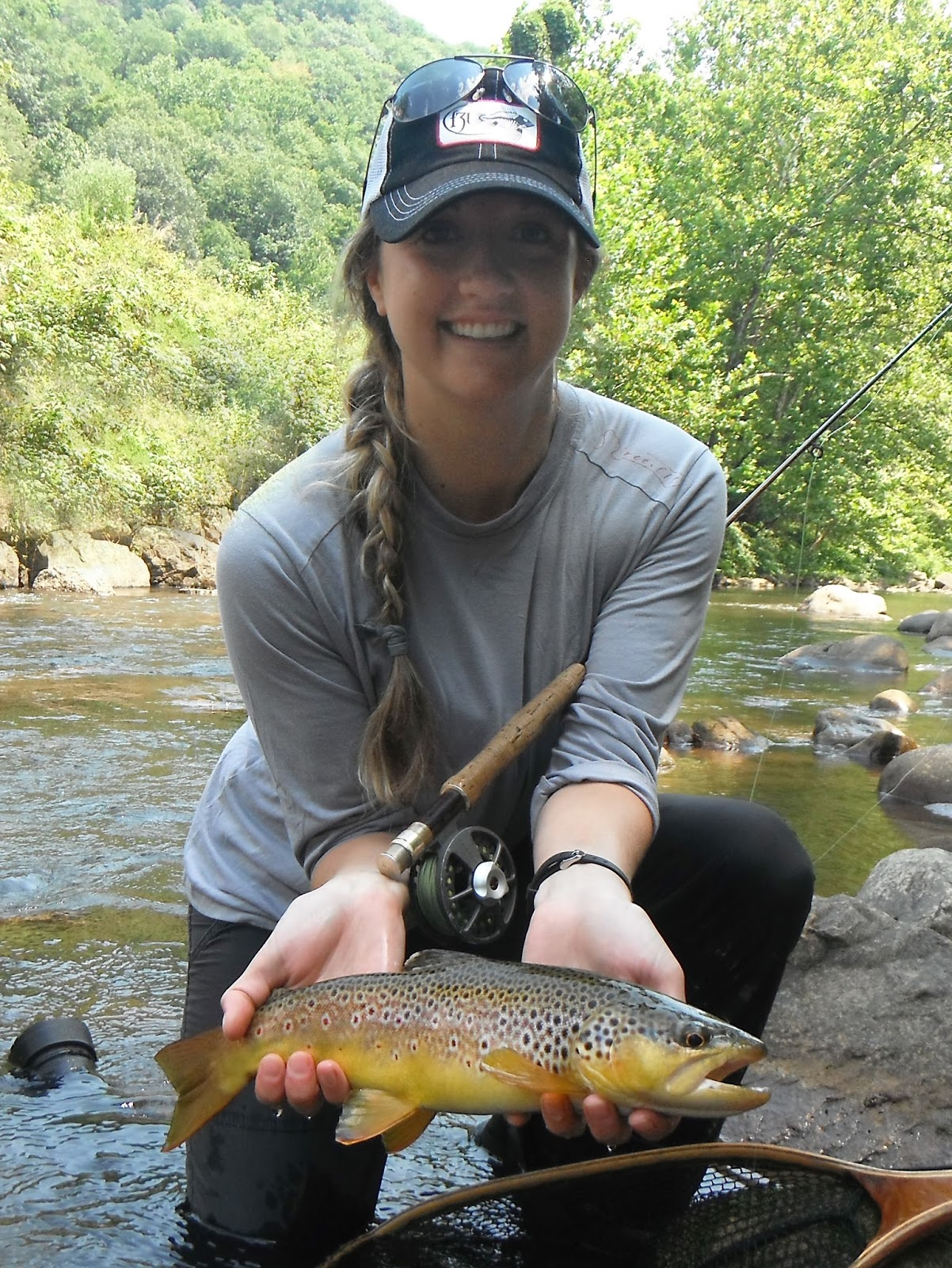 Western maryland fly fishing sunday funday for Md trout fishing