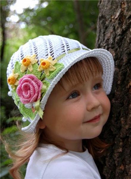 Kiser Krafts Handmade Pretty Spring Crochet Hat Pattern
