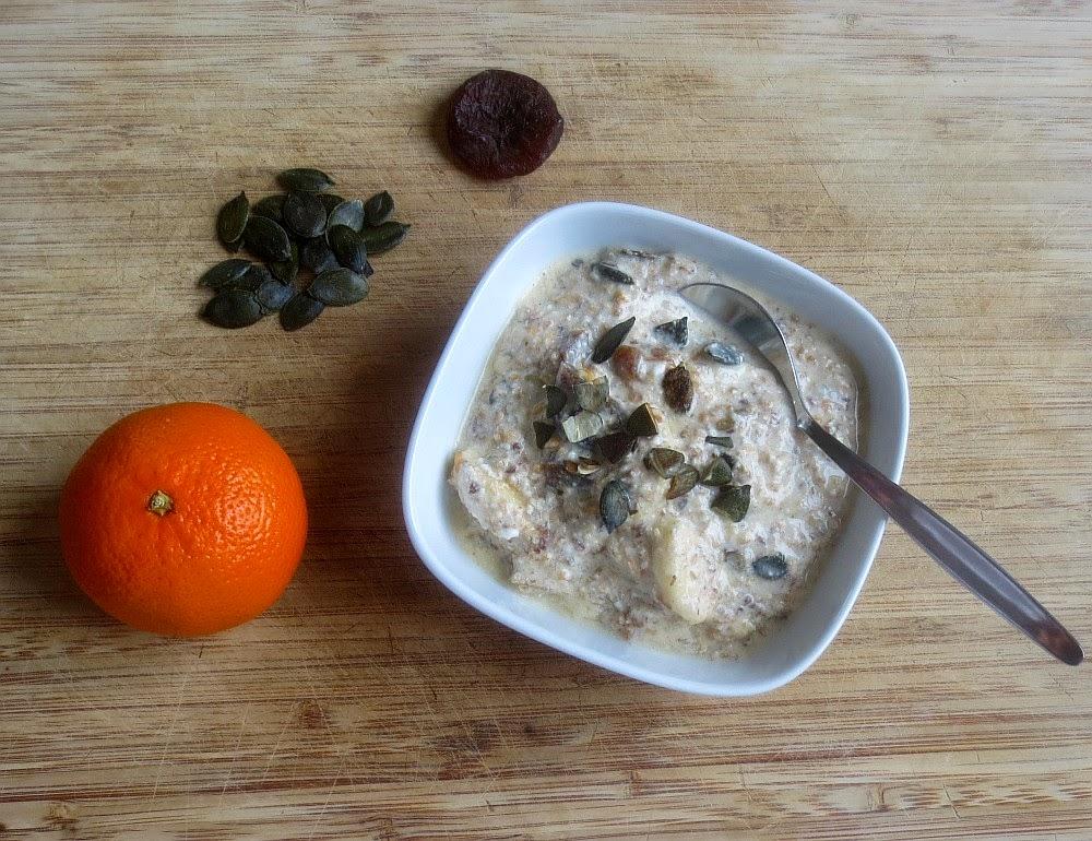 Getreidemüsli mit Kürbiskernen, Frischkornmüsli, Müsli selbermachen