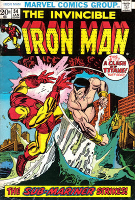 Iron Man #54, the Sub-Mariner