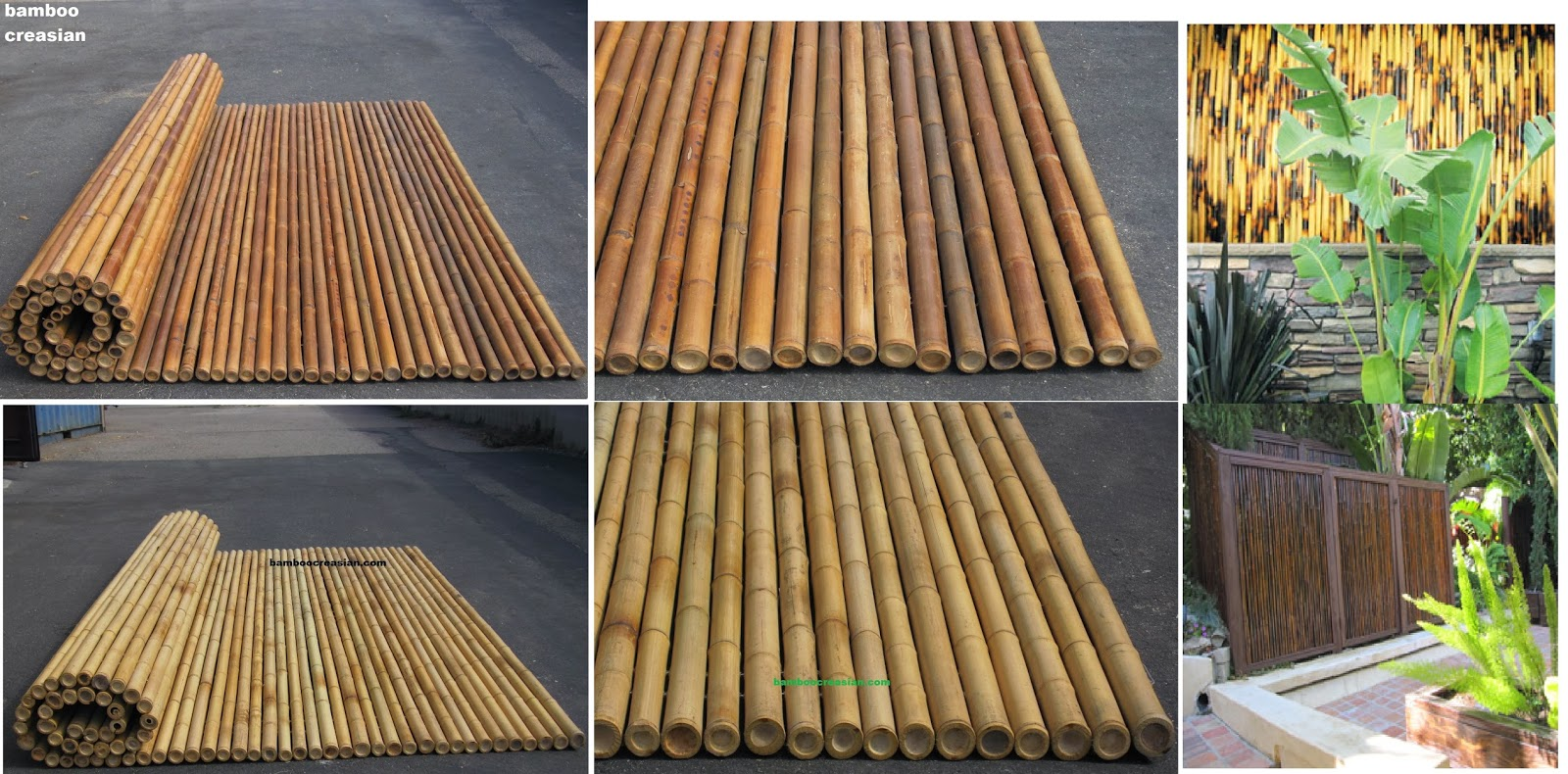 U003d#bamboo Fence Panel# Durable Bamboo Fences Sturdy #rolled Bamboo Fencing  Classical Bamboo ...