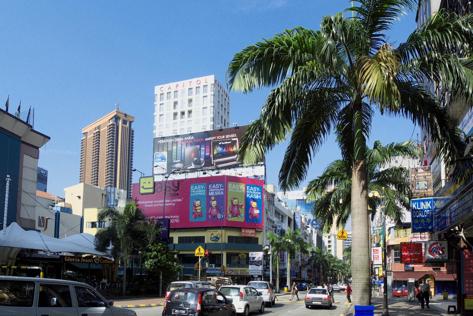 Kuala Lumpur, mining shanty town - InfoHostels.com