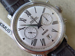 POLJOT INTERNATIONAL BAIKAL CHRONOGRAPH WHITE HONEY COMB DIAL - MANUAL WINDING
