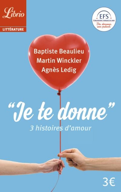 Lib book chronique je te donne baptise beaulieu for Je te transmet