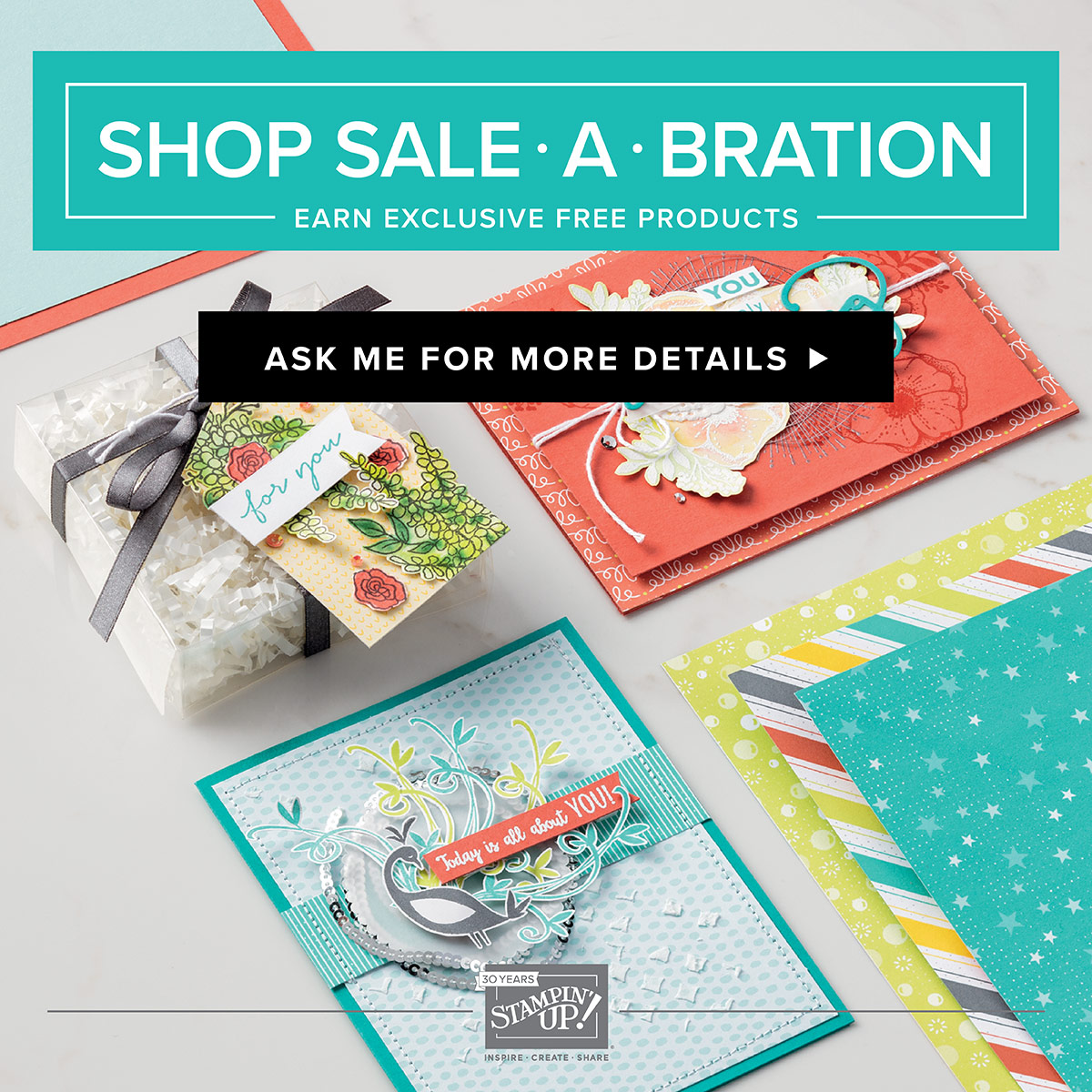 Earn Free Products during Sale-A-Bration!