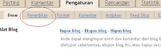 Penerbitan Blogspot