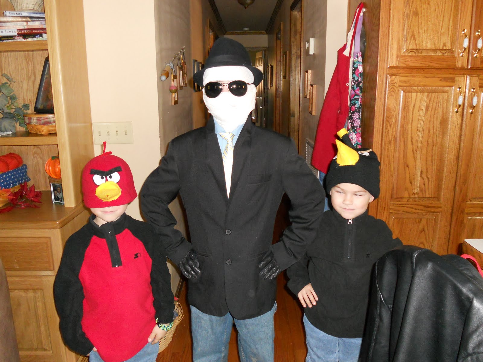 crafty mom of 4 boys: hello again & homemade halloween costumes
