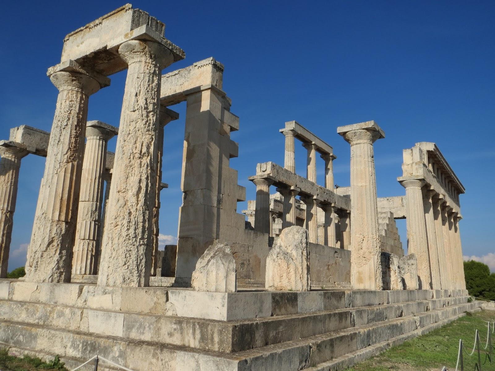 londinoupolis: Aphaia Temple, Aegina
