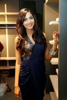 Ritu Varma Pictures in Long Dress at Vinegar The Spanish Fashion nd Launch