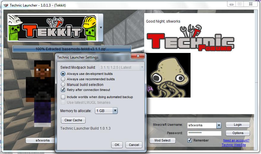 how to download tekkit server